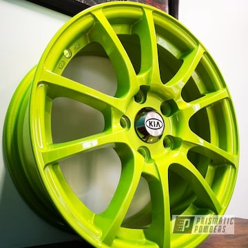 Powder Coated Kia Wheels In Pps-4765