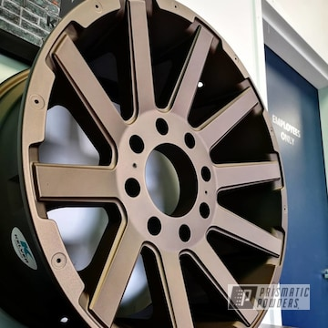 Powder Coated Wheels In Pmb-4124 And Pps-4005