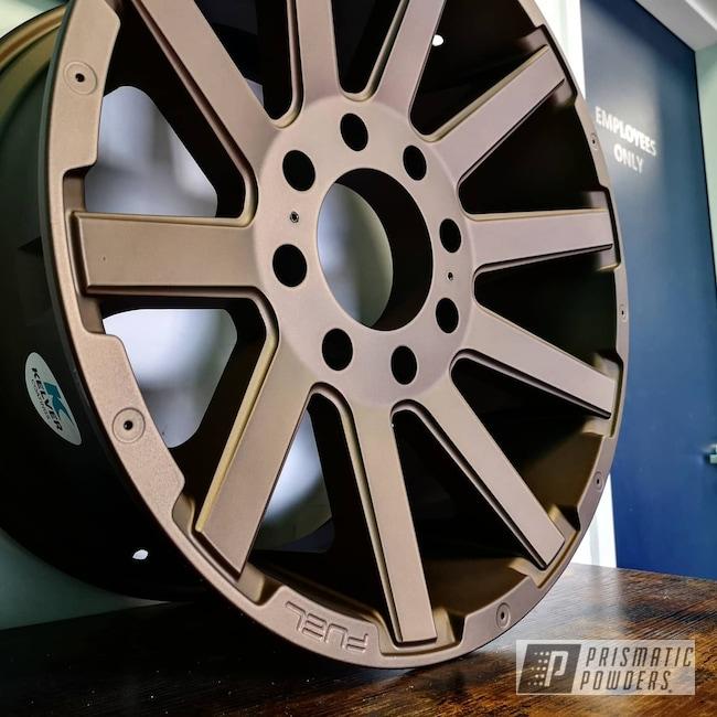 "Powder Coating: Wheels,19"" Wheels,18"",Two Stage Application,Muscle,17"" Aluminum Rims,Bronze Chrome PMB-4124,Car,17"" Wheels,15"" Aluminum Rims,19"" Aluminum Rims,18"" Aluminum Rims,Car Parts,Car Wheels,Rims,15,Casper Clear PPS-4005,bronze chrome"