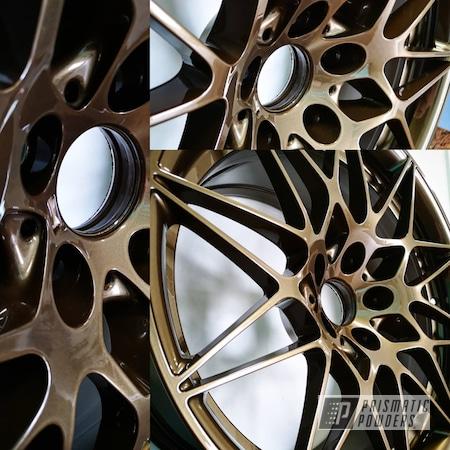 "Powder Coating: Wheels,19"" Wheels,18"",17"" Aluminum Rims,Bronze Chrome PMB-4124,Car,BMW,17"" Wheels,M3,15"" Aluminum Rims,19"" Aluminum Rims,18"" Aluminum Rims,Crazy Cart,racecar,Car Wheels,Bronze,Rims,Drift Car,bronze chrome"