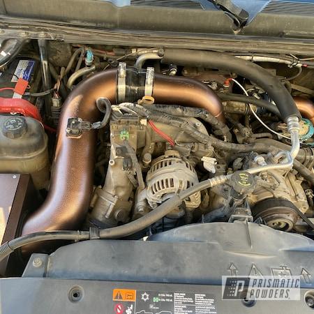 Powder Coating: HSP Diesel,Automotive,4x4,US Copper/Vein PVB-8129,Air Intake,Chevy,2500