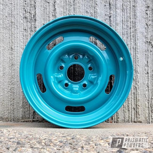 Powder Coated Steel Wheels In Pss-2791