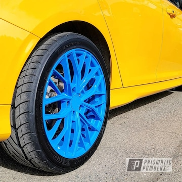 Powder Coated Ruffino Wheels In Pss-1715