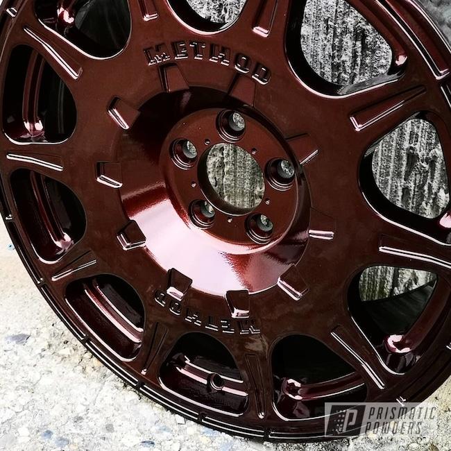 Powder Coated Method Wheels In Pmb-6796