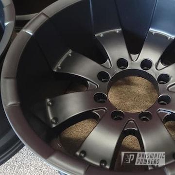 Powder Coated Wheels In Uss-1522