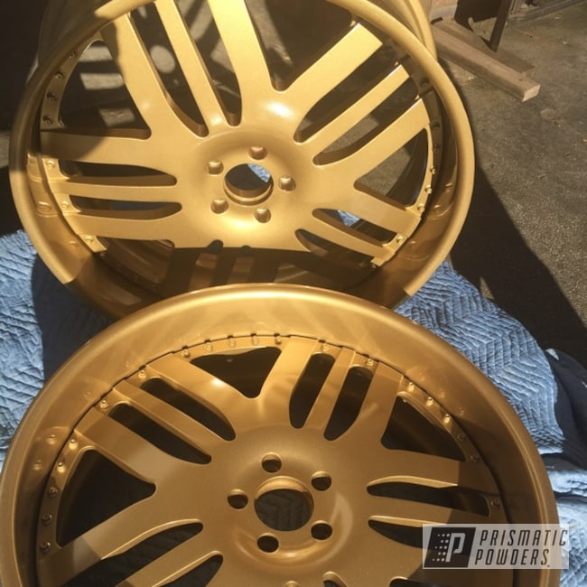 Powder Coated Wheels In Pps-2974 And Pmb-4053