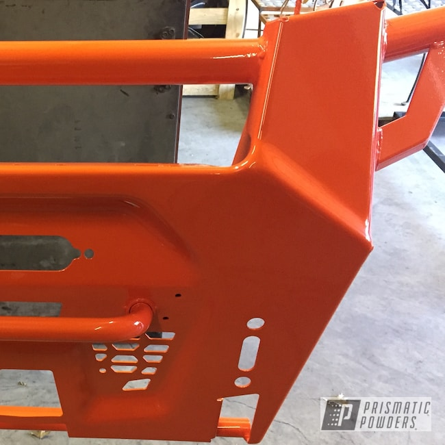 Powder Coating: Bumpers,RZR Bumpers,RZR,RAL 2004 Pure Orange