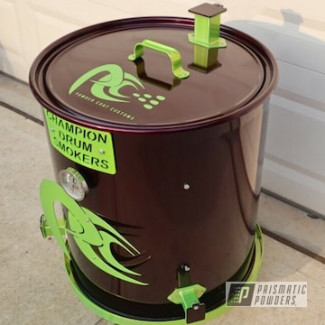 Powder Coated Custom Smoker