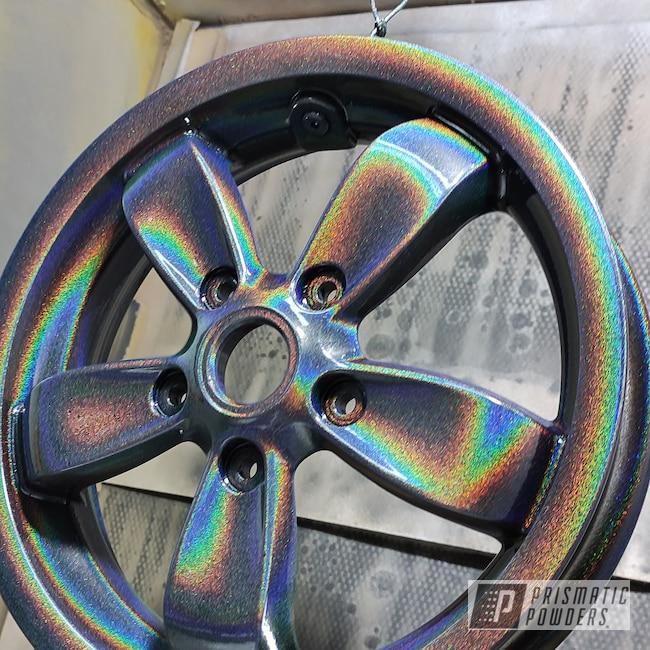 "Powder Coating: Wheels,enkei,Rims,Charger,Piagio,15"" Aluminum Rims,Vespa,Aluminum Wheels,Prismatic Universe PMB-10367"