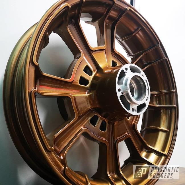 Powder Coated Motorcycle Wheel In Ppb-4520