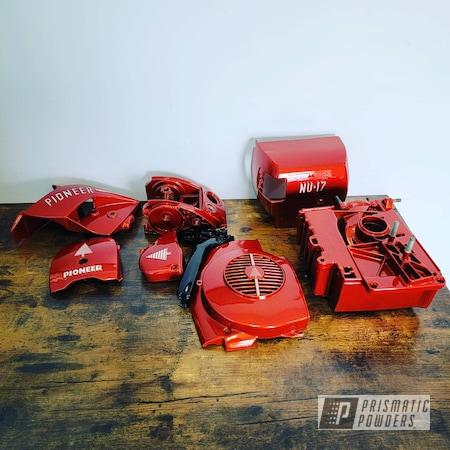 Powder Coating: Illusion,Tool,Clear Vision PPS-2974,Chainsaw,Tools,Vintage,Restoration,Lumberjack,Illusion Copper Plus PMB-5043,Vintage Tools