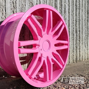 Powder Coated Wheel In Pss-10401