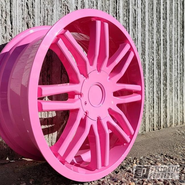 Powder Coated Wheel In Pss-10401