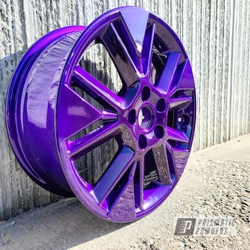 Powder Coated Wheel In Pps-1505