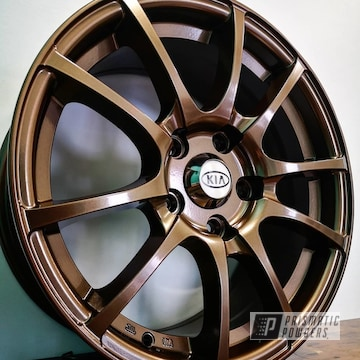 Powder Coated Kia Wheel In Pmb-4124