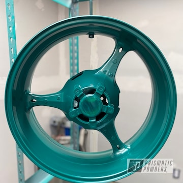 Powder Coated Motorcycle Wheels And Parts