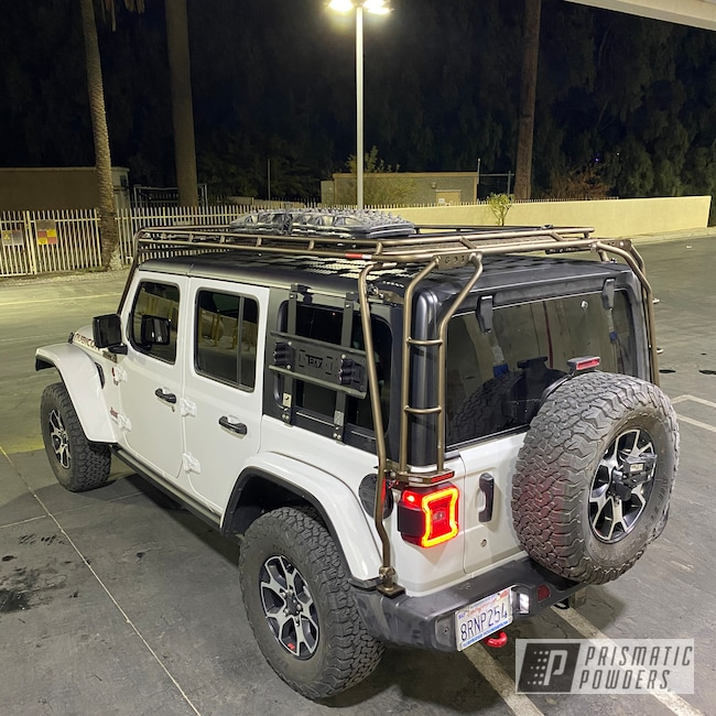 Powder Coating: Automotive,Oil Rubbed Bronze Light PCB-4333,Jeep Parts,Accessories,Off-Road,Rubicon,Off Roading,Roof Rack,Wrangler,4x4,Jeep Wrangler,Jeep,Gobi Racks