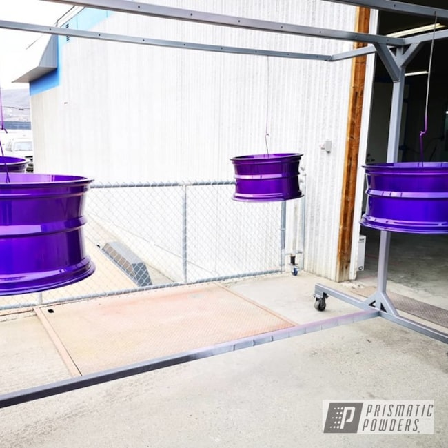 "Powder Coating: Wheels,Custom,19"" Wheels,Custom Wheel,Custom Wheels,20"" Wheels,Clear Coat Used,17"" Wheels,Truck Rims,Powder Coated Wheels,Clear Top Coat,Illusion Purple PSB-4629,Truck Parts,Clear Vision PPS-2974,Purple,Lifted Truck,Illusion Purple"