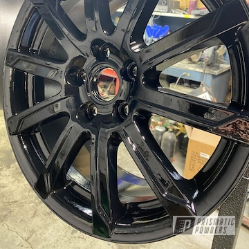 Powder Coated Wheels In Pps-2974 And Pss-0106