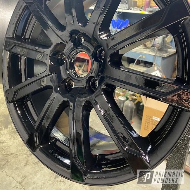"Powder Coating: Wheels,Clear Vision PPS-2974,Rims,Ink Black PSS-0106,15"" Aluminum Rims,Aluminum Wheels"