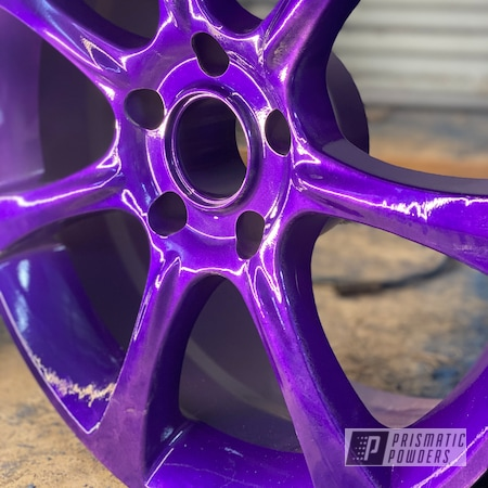 "Powder Coating: Wheels,Clear Vision PPS-2974,Rims,15"" Aluminum Rims,Candy Purple PPS-4442,Aluminum Wheels"