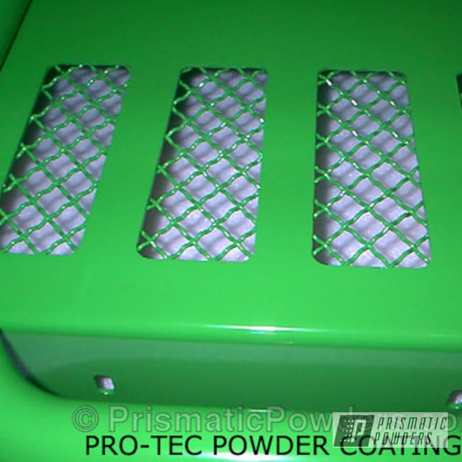 Powder Coating: Off-Road,Green,powder coated,Sweet Pea Green PSS-1070,Front Grill