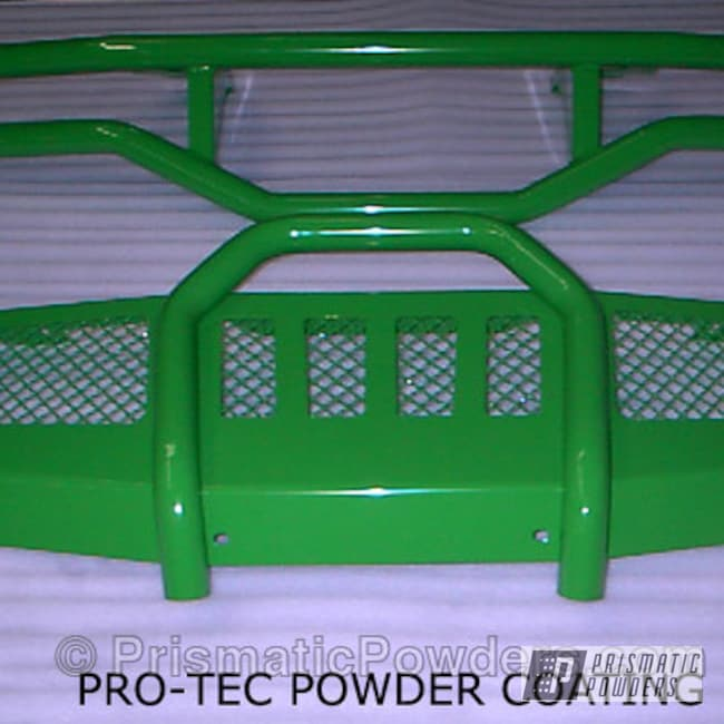 Powder Coating: Off-Road,powder coated,Sweet Pea Green PSS-1070,Front Grill,green