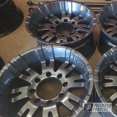 "Powder Coating: Wheels,20"" Wheels,Rims,Aluminum Rims,Lazer Diamond PMB-4156,Automotive Rims,Automotive Wheels,Aluminum Wheels"