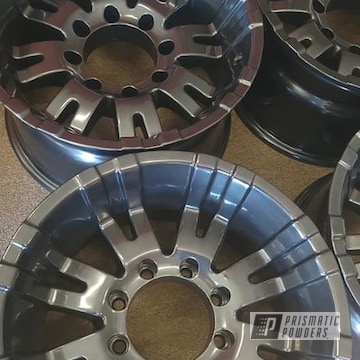Powder Coated Wheels In Pmb-4156