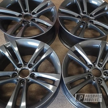 Powder Coated Wheels In Pps-2974 And Pmb-5027