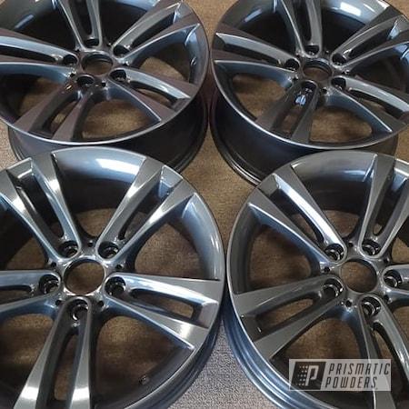 "Powder Coating: Wheels,19"" Wheels,Clear Vision PPS-2974,Rims,Aluminum Rims,Kingsport Grey PMB-5027,19"" Aluminum Rims,Automotive Rims,Automotive Wheels,Aluminum Wheels"