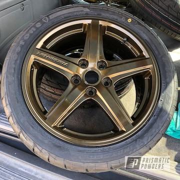 Powder Coated Mazda Rims In Pmb-4247