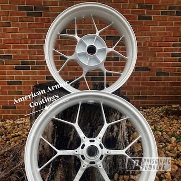 Powder Coated Honda Cbr Wheels In Pmb-4130