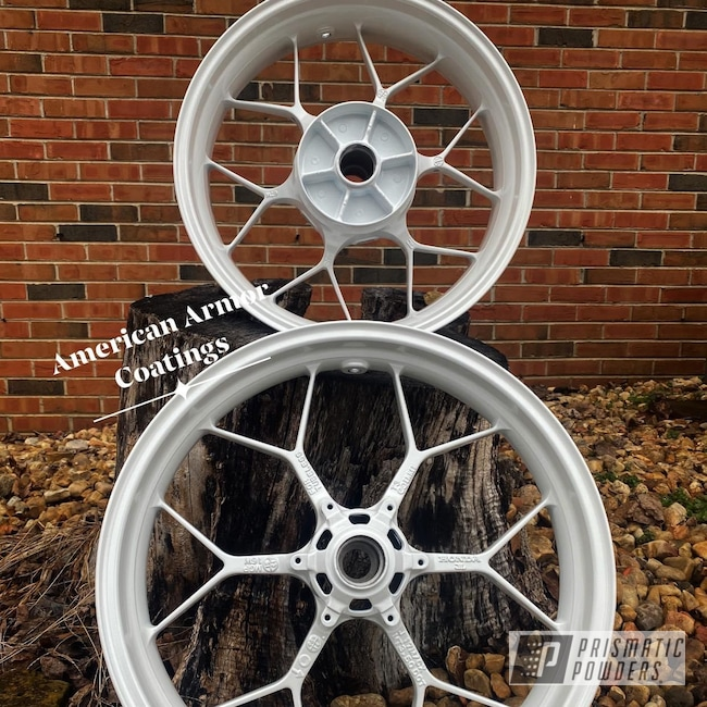 Powder Coating: Wheels,Rims,Honda Motorcycle,Honda,Honda CBR Wheels,Motorcycle Rim,1000RR,600RR,Pearl Sparkle PMB-4130,CBR1000RR