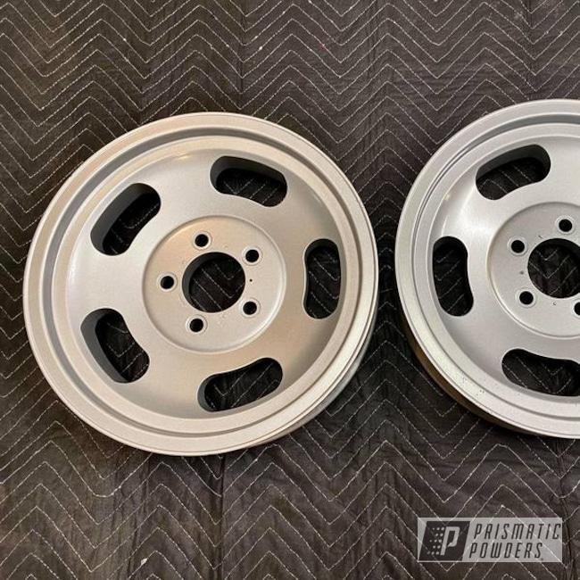 Powder Coated Wheels In Pms-4983