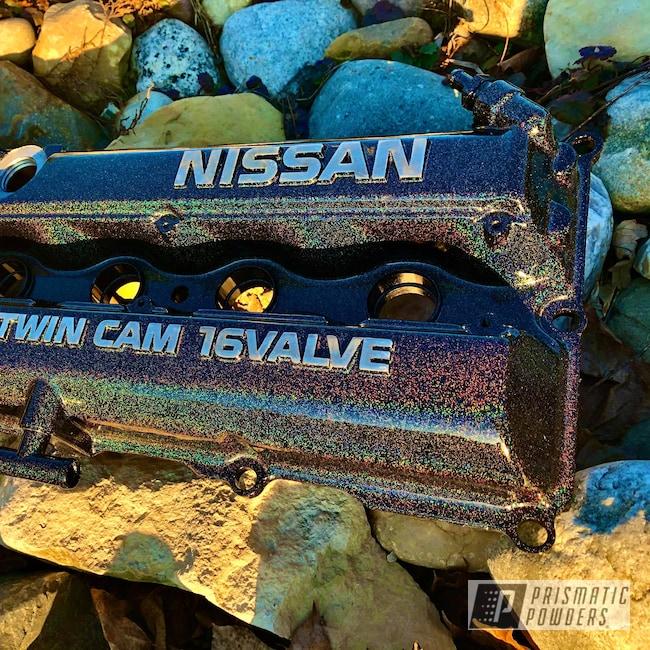 Powder Coating: Automotive,Nissan,City Lights PMB-2689,Silvia,SR20DET,S14,S15,Valve Cover,s13