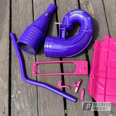 Powder Coating: Kawasaki,Passion Pink PSS-4679,Jet Ski,Sinbad Purple PSS-1676