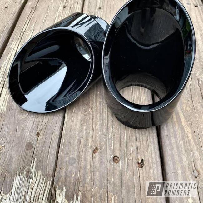 Powder Coating: Automotive,Ink Black PSS-0106,Dodge,SRT,Exhaust,Exhaust Tips,durango