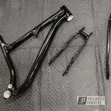 Powder Coated Bike Frame In Pss-0106