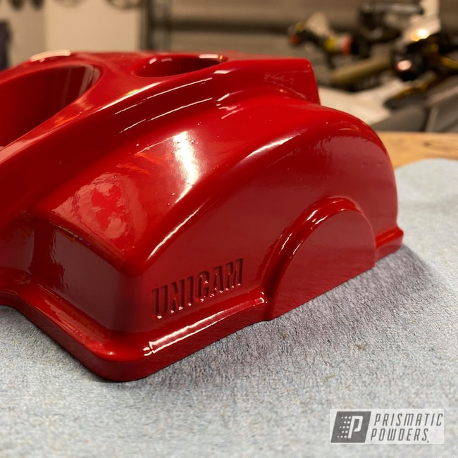 Powder Coating: Honda,Motorcycles,Very Red PSS-4971,Valve Cover,Dirt Bike,CRF250R