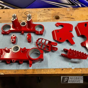 Powder Coated Motorcycle Parts In Pss-4971