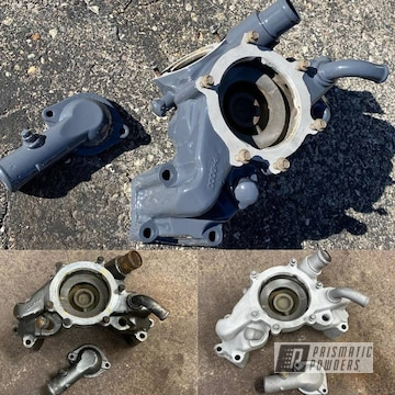 Powder Coated Water Pump Parts In Pss-2748