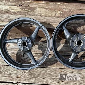 Powder Coated Motorcycle Wheels In Pmb-5027