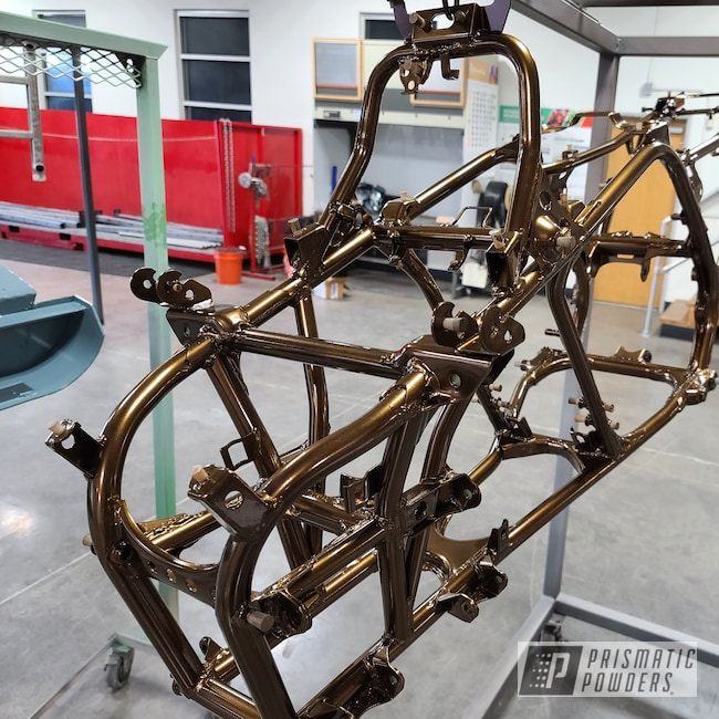 Powder Coating: quad frame,ATV,Banshee,banshee frame,Yamaha,Super Rootbeer PMB-6335,4 Wheeler,quad