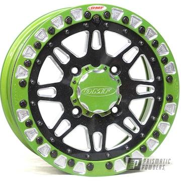 Powder Coated Custom Utv Wheel In Pss-0106, Pmb-6913 And Ppb-6627