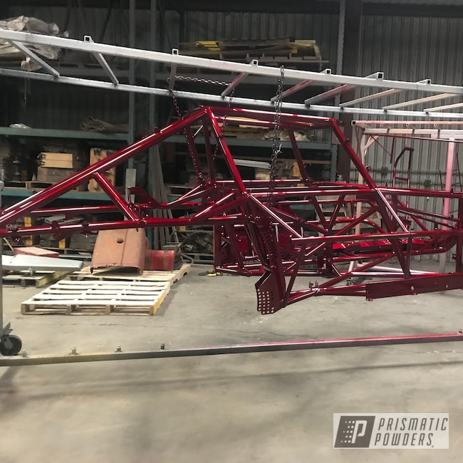 Powder Coating: Automotive,Illusion Cherry PMB-6905,Frame