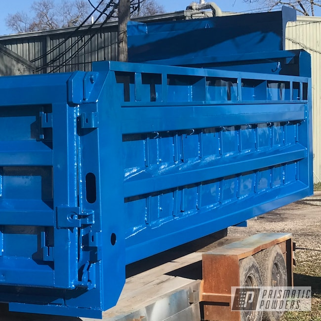 Powder Coating: Automotive,CALYPSO BLUE PMB-1607,Auto,Truck Bed