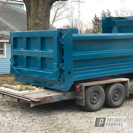 Powder Coating: Automotive,Truck Beds,Truck Bed,Lada Teal PSB-10070