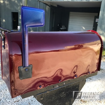 Powder Coated Mailbox In Pmb-6905, Ppb-4474 And Pps-2974