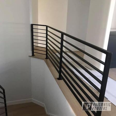 Powder Coating: Railings,Handrails,Flatter Black ESS-4441,Custom Railings,Household,Patio Railings,Modern Railing